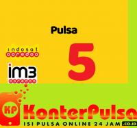 Pulsa Indosat - Indosat 5.000