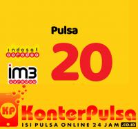 Pulsa Indosat - Indosat 20.000